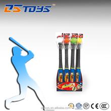 High quality shantou lightwheigh plastic baseball bat and ball set