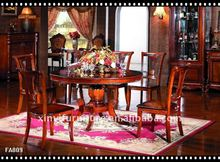 classical round pedestal dining table FA809-A