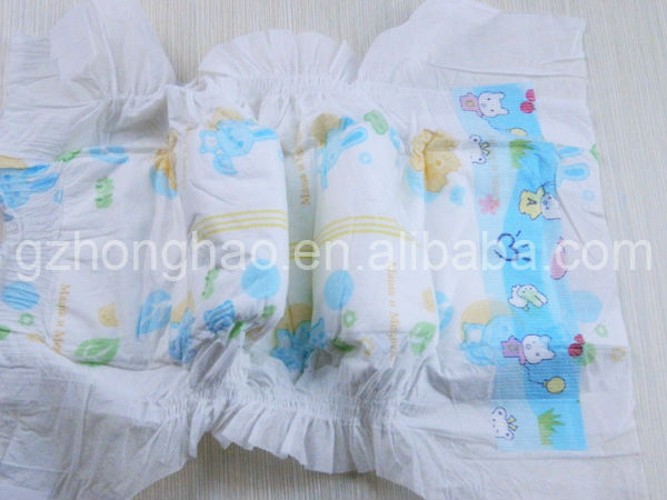 2014 new breathable disposable sleepy baby diaper wholesale