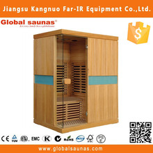 wood sauna room
