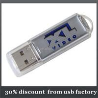 classic Modified Epoxy usb dirve Bulk 1GB plastic usb 2.0 flash memory