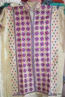 DRESS MATERIAL embroidered PHULKARI KURTA FABRIC MATERIAL