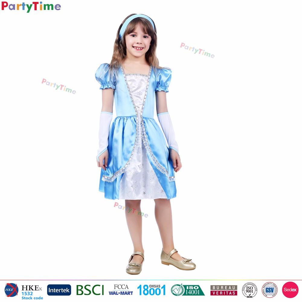 children cinderella costumes party fancy dress wholesale custom made