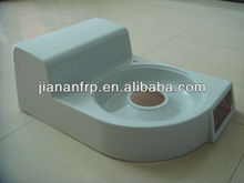 Factory OEM equipment cover gel coat or painted finish GRP products