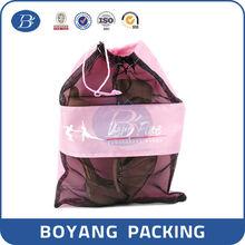 2015 new style cheap nylon mesh laundry bag