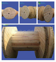 for Wire cable wrapping wooden cable spool,wooden cable reels