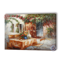 Countryside landscape painting for handmade oil painting wall art