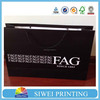 2015 Luxury Design valentine plain color paper loot bag recycle for essential oil