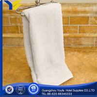 applique china wholesale 100% organic cotton cotton and linen blend material kitchen towel
