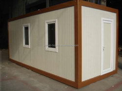 Modern container house Prefabricated Houses/granny flat/cottage with solar system and light steel structure
