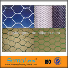 made in China factory price height quality PVC coated chicken runs mesh