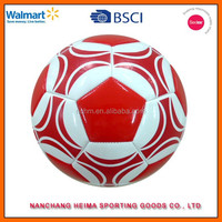 customized soccer balls TPU machine stitching with BSCI ICTI cetificate