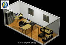 Certification prafab living container house for sale