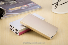 New years gift 6000mah portable power bank for any mobile phones brand/tablet/consumer electronics