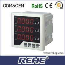 Verkaufen digital amperemeter und voltmeter Kombination panelmeter I/u meter
