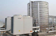 High COP and stable Commercial heatpump for hot water