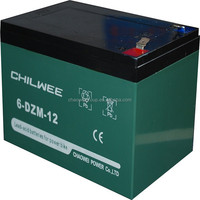 12v12AH sealed lead acid(SLA) rechargeable battery for e-Scooter