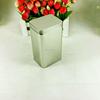 Custom rectangle tea packaging plain tin box