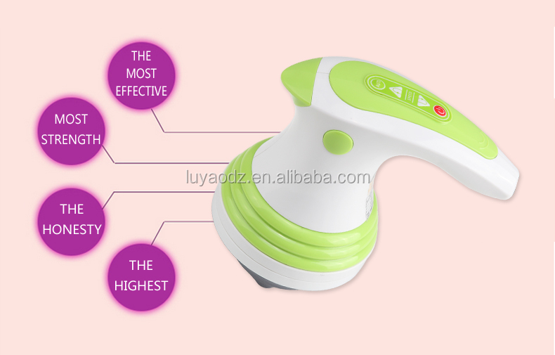 Electric personal massager , vibrating fat burning massager LY-551