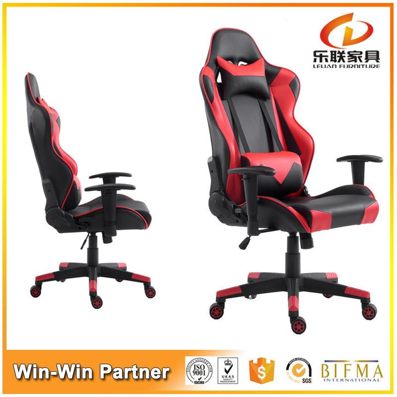 Офисное Кресло с высокой Спинкой ПУ Поворотный Коленях dxracer игры Геймер стул