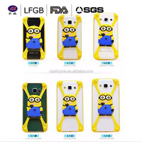 New arrival!!!Wholesale fashion cartoon design multi-functional silicone universal phone case silicone cell moible phone case