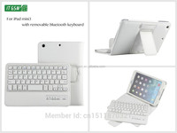8' V3.0 wireless bluetooth keyboard leather unbreakable protective case for ipad