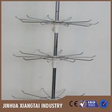 Precio de fábrica de metal colgante exhibición de la joyería estante, muestra exhibición de la joyería