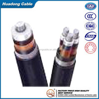 Low smoke zero halogen flame retardant polyolefin ac power cable