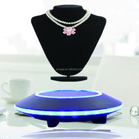 Max load 500 auto free rotation UFO base magnetic floating tablet display stand