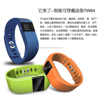 (sl)Fitness Activity Tracker Bluetooth 4.0 Smartband Sport Bracelet Smart Band Wristband Pedometer For IOS Samsung Android TW64