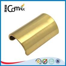 Fashion Half Cylinder Shape Gold Handbag Hardware Fittings