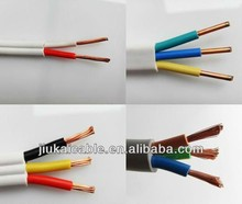 JK flex flat ribbon cable samsung ul ce rohs electrical wire 166 tough plastic sheathed cable flat electrical cable