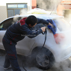 CE no boiler 30 bar diesel dry wet steam car cleaner/ vapor steam car washer/steam jet car wash