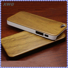hot sell for iphone case bamboo with ABS material