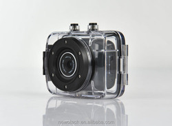Most popular touch screen action cam underwater camera for fishing