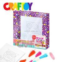 DIY craft toy kit Embroidery kit Cross stitch wall art
