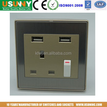 USUN BS USB switch socket outlet