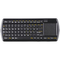 2.4G RF Wireless Keyboard with Touchpad and Flashlight