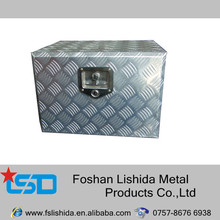 Waterproof Aluminium checker plate tool box of diamond pattern