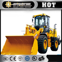 XCMG 4ton compact wheel loader Lw400KN / wheel loader quick attachments