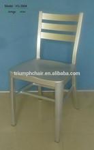 Triumph de alumínio antigo de prata da marinha de cadeiras de bar para sala de jantar