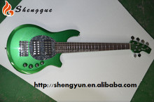 Best selling green color bass guitar 6 string electric bass
