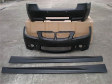 pp plastic raw material body kit front bumper kit for B-M-W E90 converted to M3