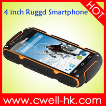 Android 4.2 Dual SIM Card 5.0MP Camera WIFI GPS rugged waterproof cell phone