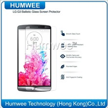 Humwee Glass Screen Protector for LG G3 [HD Anti Glare] 0.33MM Highest Quality Premium High Definition (HD) Reduce Fingerprint