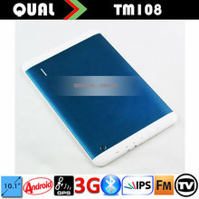 "10.1"" apple tablet with phone call with MTK8382 Quad Core 3G Calling Bluetooth FM TV Android 4.2"