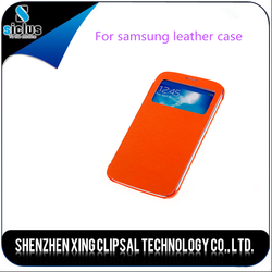 Alibaba China two mobile phones leather case for samsung mobile phone made in korea