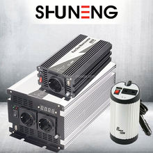 SHUNENG 25w 300w europe car power inverter with ce rohs emark