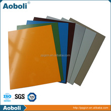 colored sheet metal construction steel
