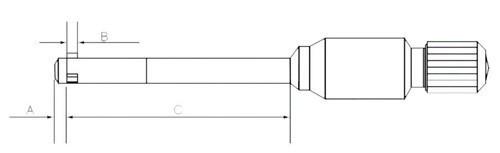 три point внутренние Микрометры 30-40 мм